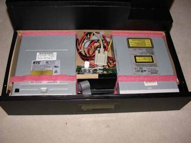 Laufwerke und LCD